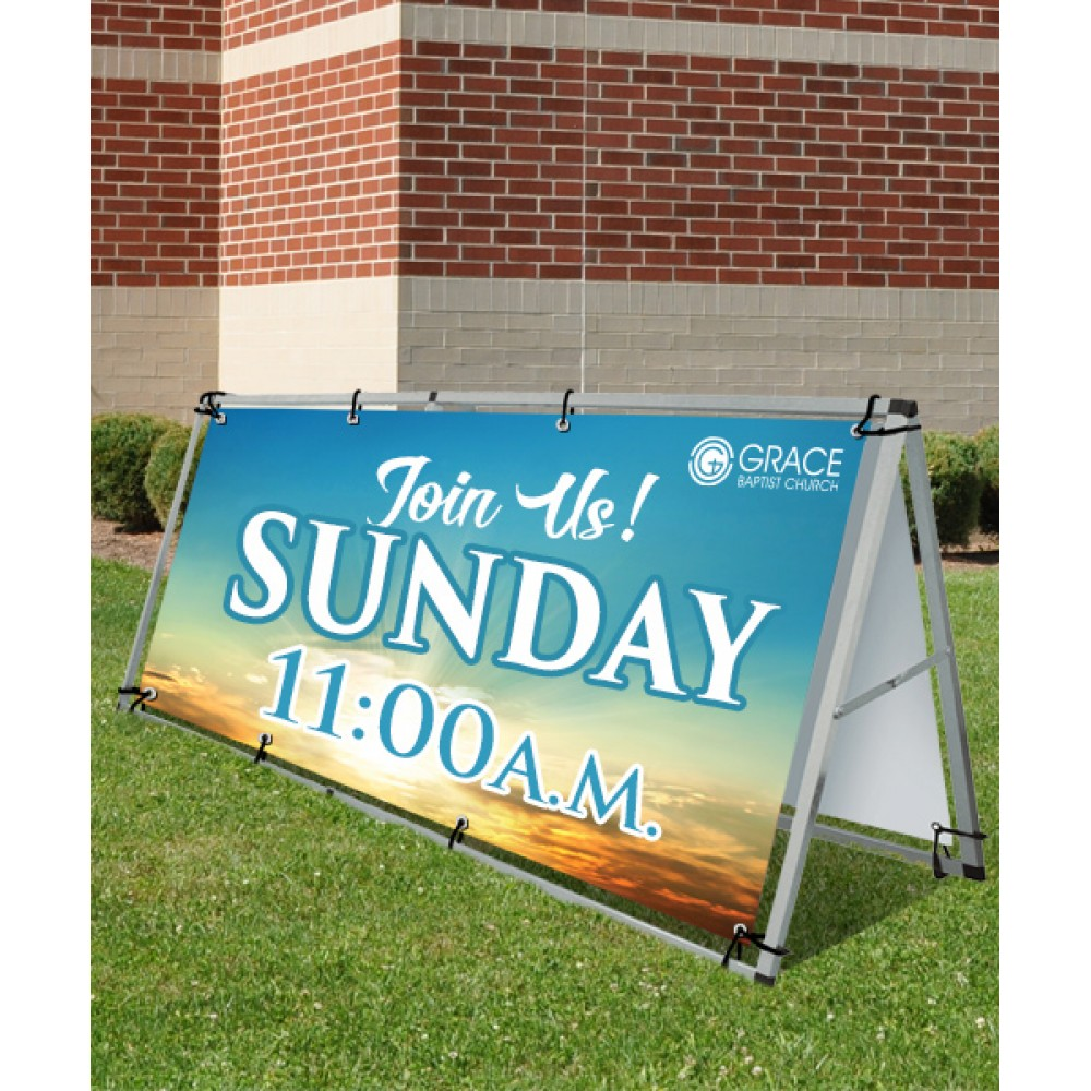13 oz. Vinyl Banner (Single-Sided) (Banners)