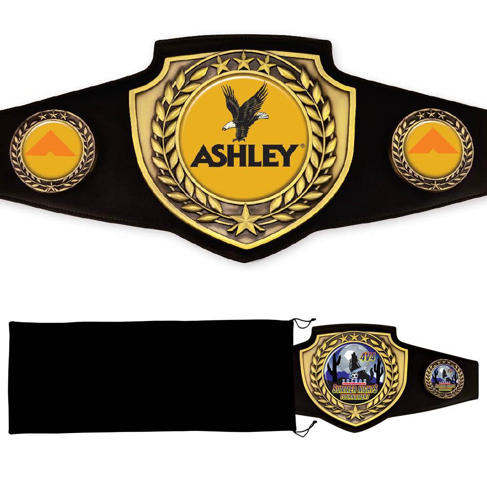 Antique Shield Championship Belt (Swim & Dive)
