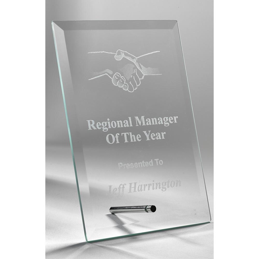 Jade Rectangle Stand Award