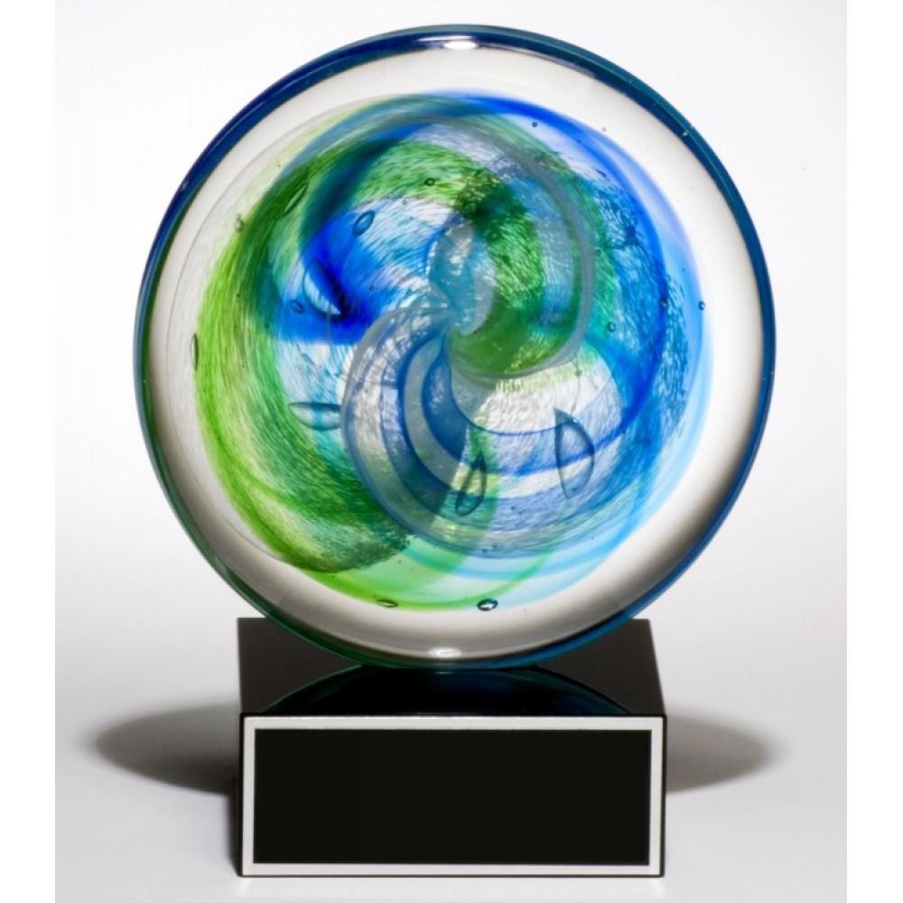 Art Glass Disk Award