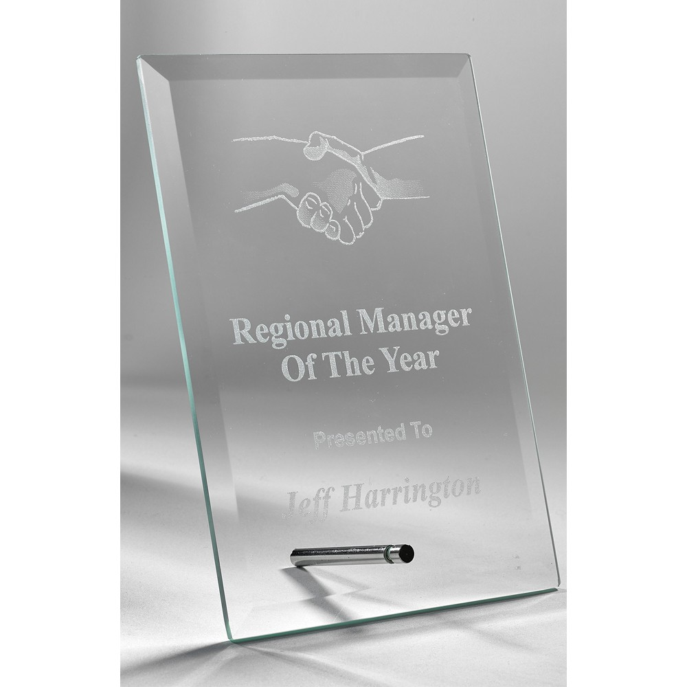 Jade Rectangle Stand Award (While Quantities Last!)