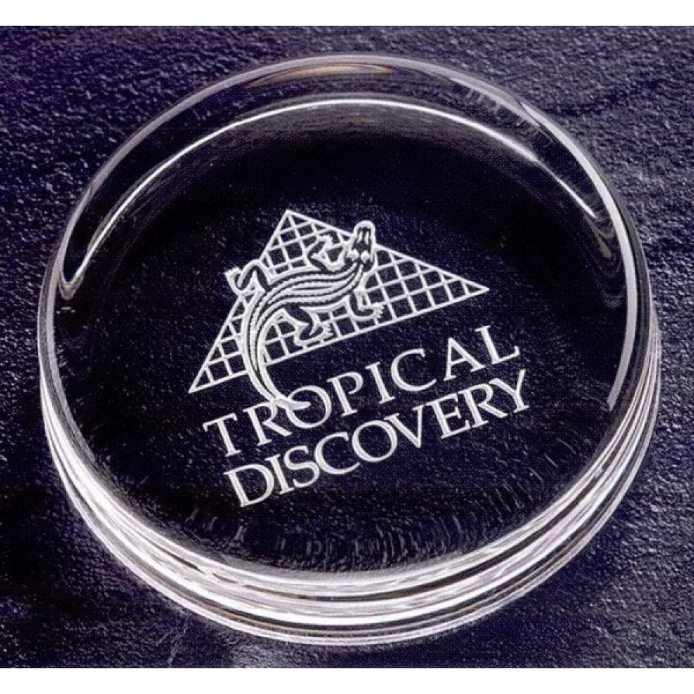Signature Optic Paperweight (Paperweights & Coasters)