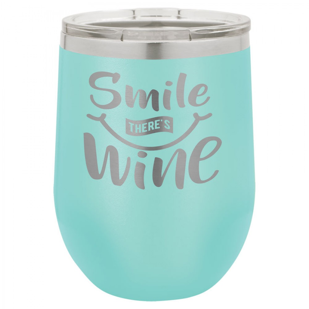Polar Camel 12 oz. Vacuum Insulated Stemless Wine Tumbler w/Lid -