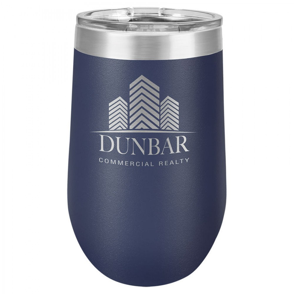 Polar Camel 16oz Vacuum Insulated Tumbler with Clear Lid -