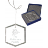 Crystal Ornament with String & Box