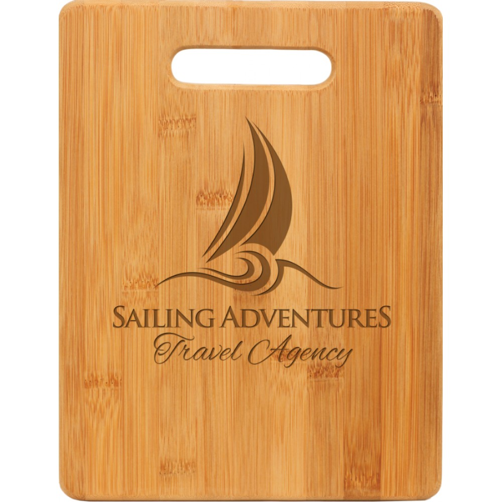 Bamboo Rectangle Cutting Board (Other Personalized Gifts)