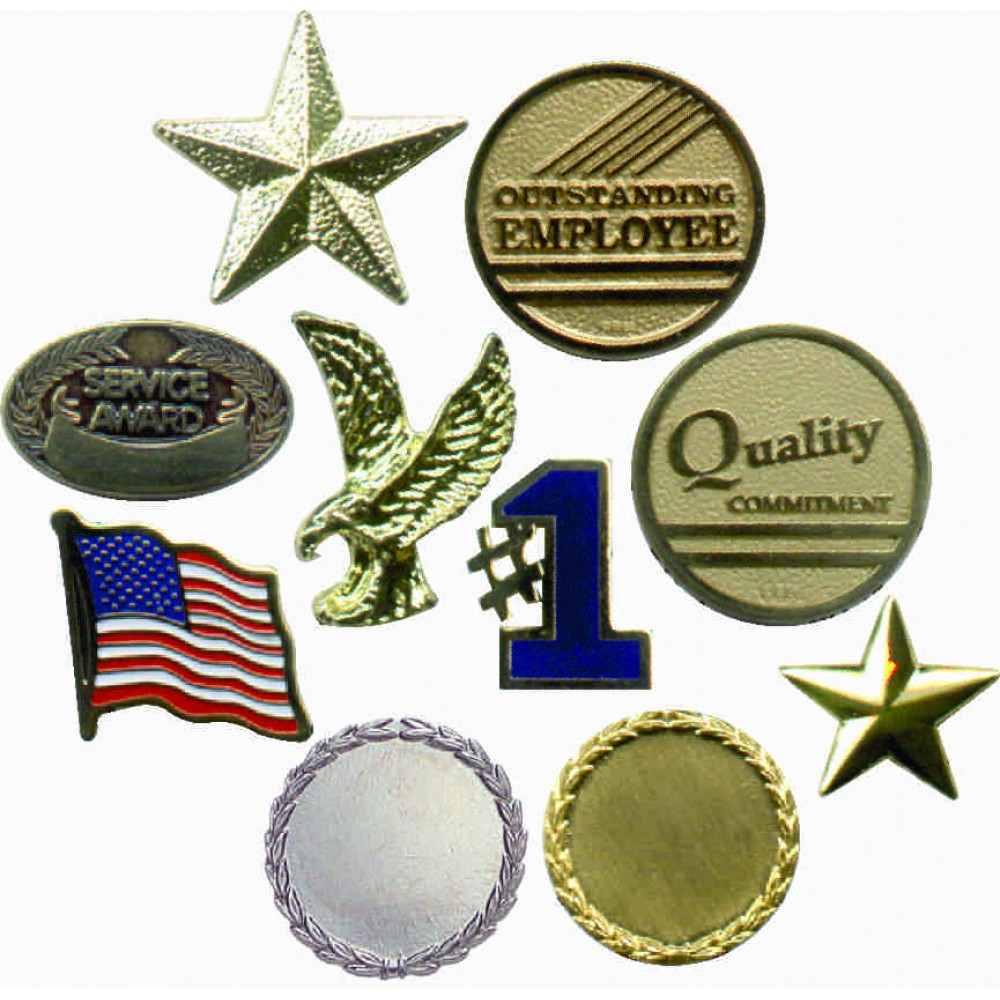 Patriotic & Employee Lapel Pins (New Arrivals!)