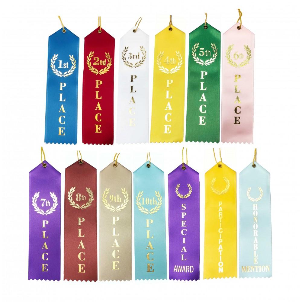 Place Ribbons (Stock Ribbons)