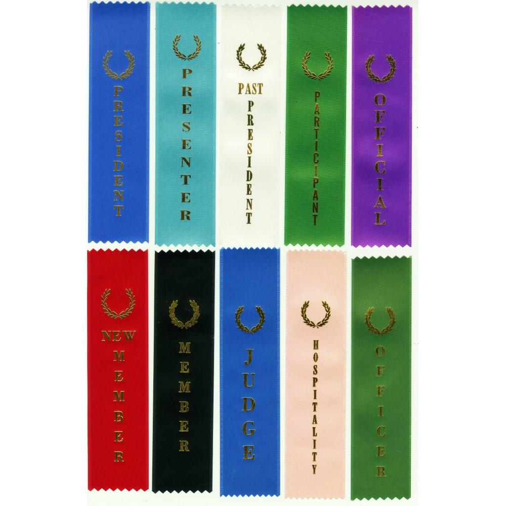 Title Ribbons (Stock Ribbons)