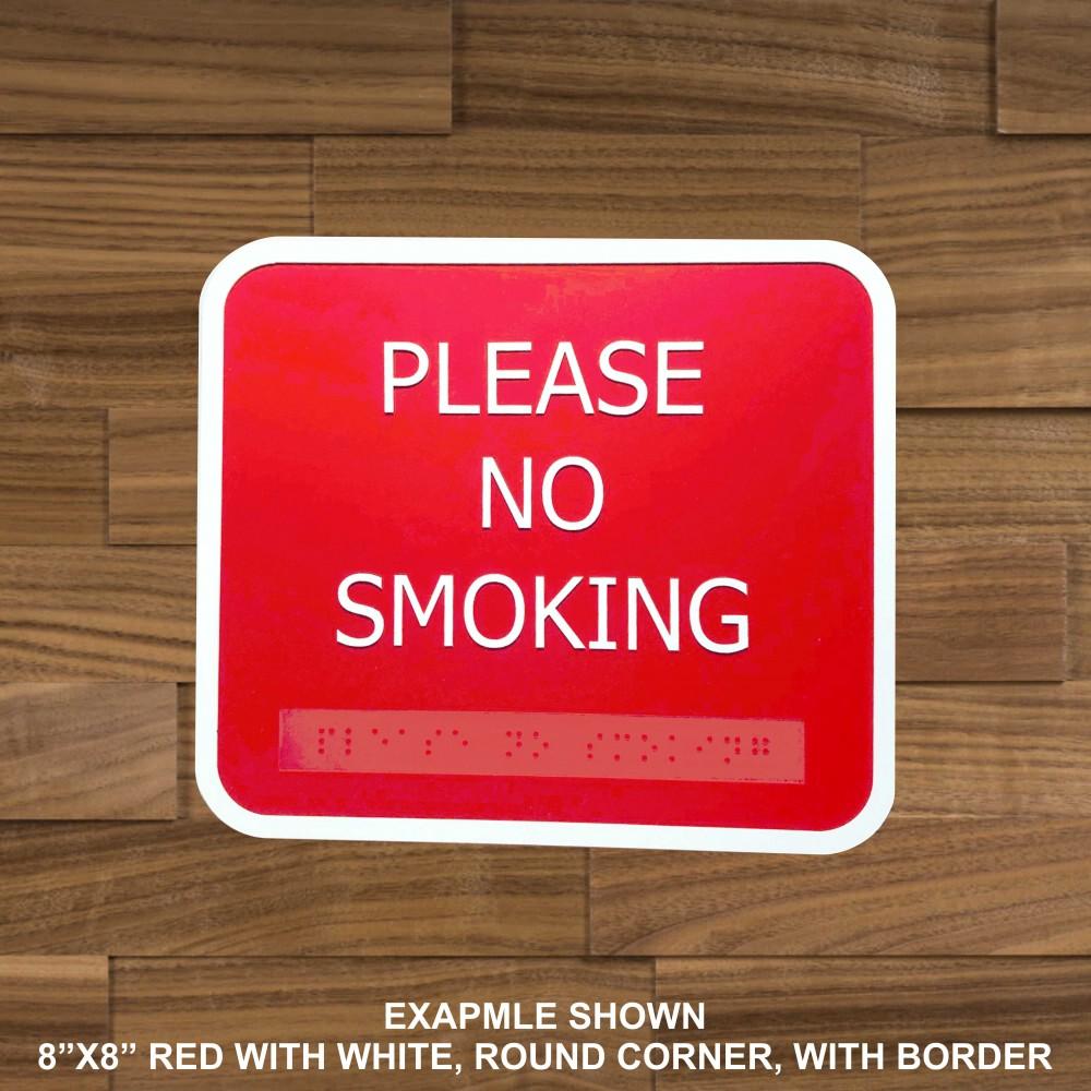 Braille ADA Alternative Custom Signs (Customize Me)