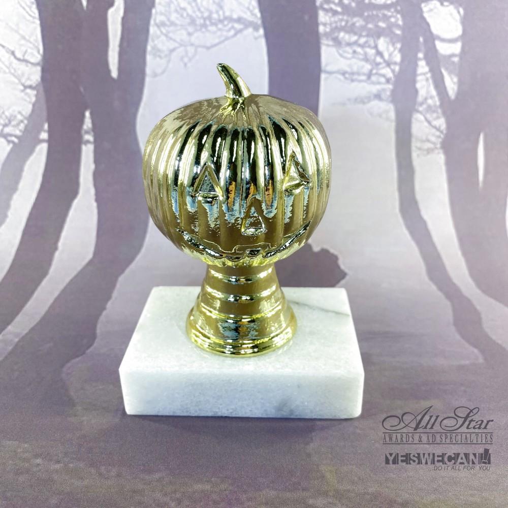 Heavy Metal Pumpkin Trophy (Just For Fun)